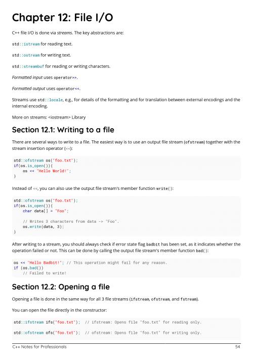 Free C++ Programming Book