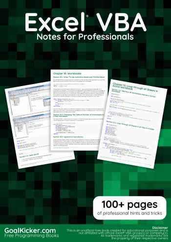 Free Programming Books – GoalKicker com