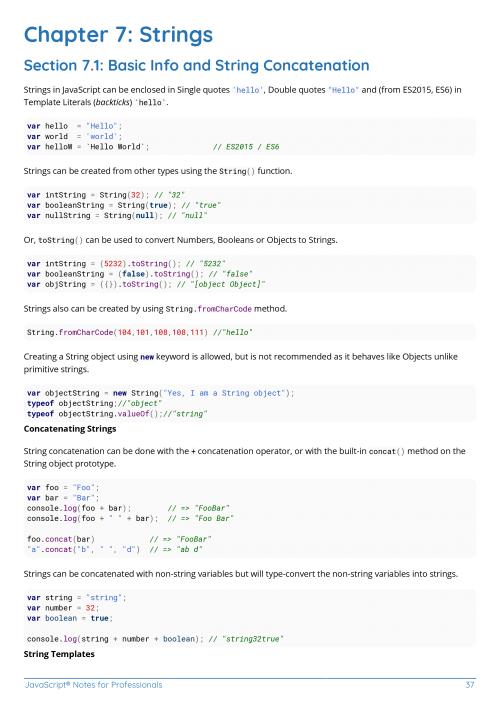 Free JavaScript Programming Book