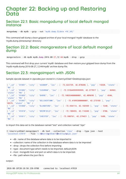 Free MongoDB Book