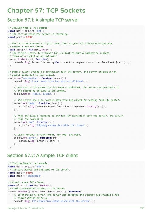Free Node js Book